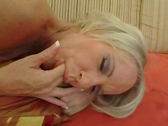 compilation, oral, blonde, mature