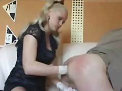 Nasty mistress fists h...