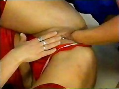 Mature sluts at the center of an orgy
