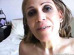 Mature mexican enjoys a hard fuck and...