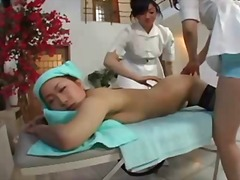 massage, asian, threesome, pussy,