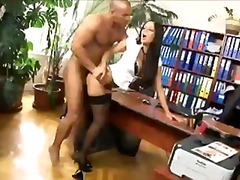 Office secretary fucked in... - 05:03
