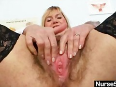 dildo, kinky, milf, masturbating, big-boobs, bizarre, hairy, mature, stockings, blonde, lady, speculum, busty, nurse, masturbate, pussy, homemade, fetish, masturbation, big-tits, old