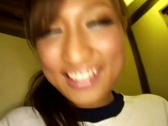 Dr Tuber - Petite Japanese teen giving her watchers a masturbation show in the public loo