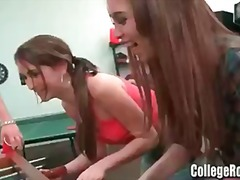 Cute College Babe gets...