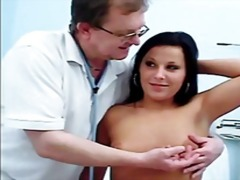 gyno, speculum, brunette, medical,