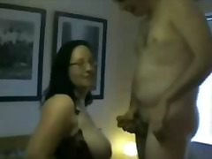 Fat BBW Ex GF fucking, riding cock an...