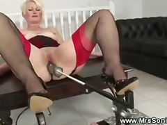 Mature enjoying sex ma...