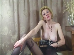 british, matures, stockings,
