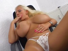 solo, mature, blonde, milf