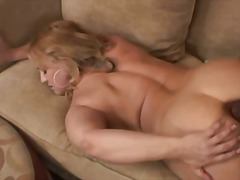 Nasty Blonde Ass Fucked And Jizzed By...
