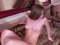 aurora snow,  blonde, deepthroat, blowjob
