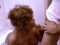 mature, sex, cumshot, bathroom