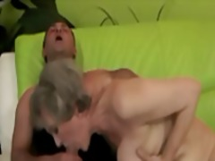 granny, blowjob, oral, mature, cumshot, facial