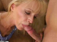cougar, facial, mature, pornstar