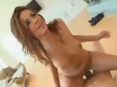 He fucks the curvy girl all over the ...