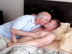 sucking, mature, kissing, daddy