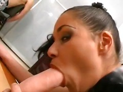 Alpha Porno Movie:They stuff two dicks into her ...