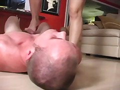 skirt, cfnm, footjob, threesome,