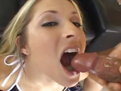 outdoor, cum in mouth, cumshot