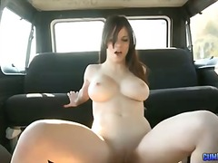 couple, blowjob, big tits, cream pie