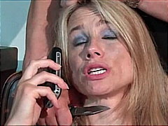 milf, blonde, facefuck, blowjob,