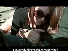 College Girl Roadhead video