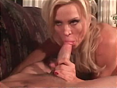 cougar, mature, blow-job, blonde,