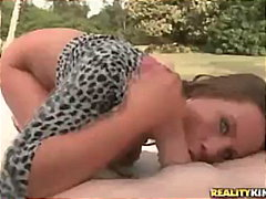 handjob, blow-job, outside, facial,