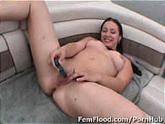orgasm, solo, masturbating, big-tits, brunette, shaved, squirting, cumming, vibrator, outdoors, wet, public, toys, dildo,