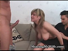 homemade, pussy-eating, blonde, swinger, big-tits, wife, facial, blowjob, orgasm