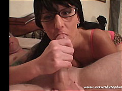 glasses, swallow, deep-throat