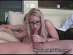 busty, glasses, big-tits, 3some,