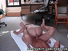Chubby amateur wife fu...
