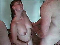 Nuvid - French amateur cum blast bitch gets a massive bukakke treatment