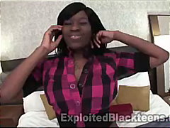 Porn Hub - 18yr old Ebony Teen Dirty Talks in POV Video