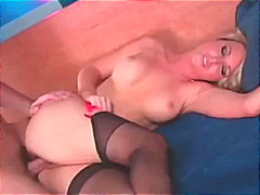 hardcore, blonde, uniform, pounding,