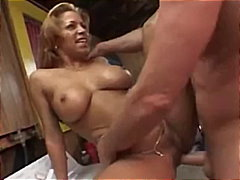 cumshot, doggystyle, black, mom,
