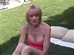cougar, homemade, blow-job, blonde,