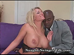 interracial, swinger, bigtits, black, naughty, pussy-eating, blowjob, wife, busty, lingerie, stockings, orgasm