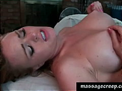 busty, rubbing, amateur, massage,
