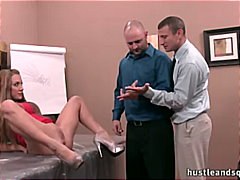 orgasm, wet, big-tits, office, wife