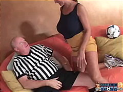 mom, blowjob, old, mother, big-tits