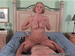 mother, big-tits, orgasm, homemade, hardcore, doggystyle, riding