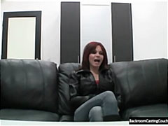 Busty Redhead's Porn Audition