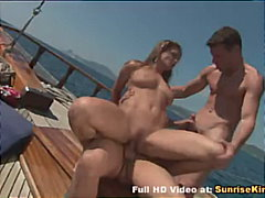 Porn Hub - Rita Faltoyano boat sex with two guys