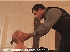 A naughty schoolgirl gets punished an...