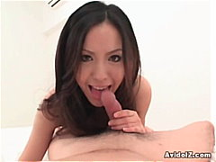 suck, asian, swallows, cum, pov, blow-job