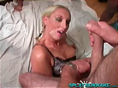 cumshot, handjob, blow-job, british