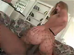 lauren phoenix,  blowjob, fishnet,